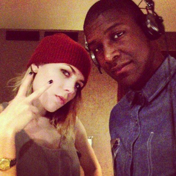 In the studio with @SkylarGrey 2 марта 2013
