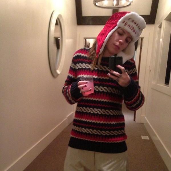 Xmas selfie #greychristmas 23 декабря 2013