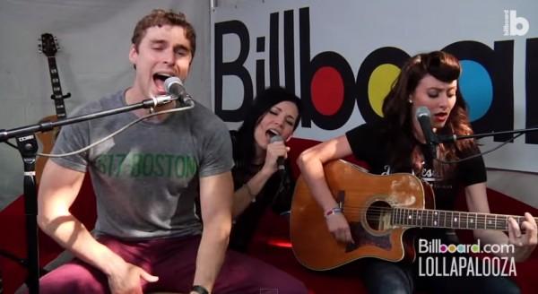 Karmin & Skylar Grey исполнили «I Need A Doctor» на фестивале Lollapalooza 2011
