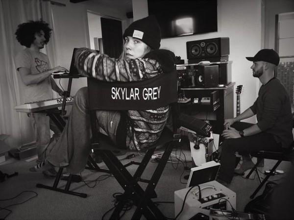 2015.02.05 - Инстаграм Skylar Grey- «Репетиция или импровизация?»