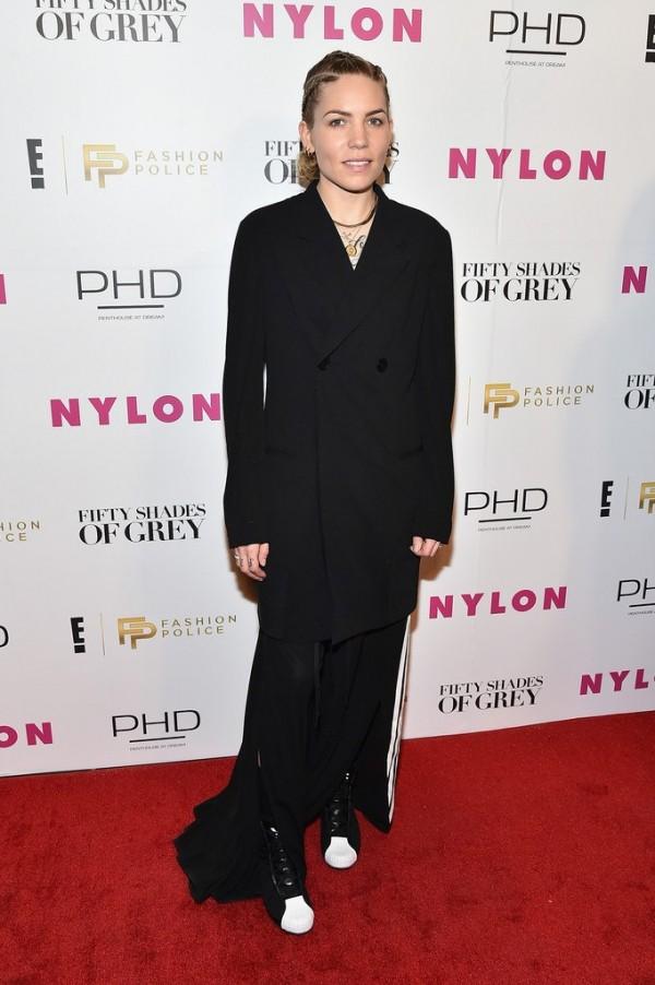 Фотографии Skylar Grey на красной дорожке вечеринки «NYLON Fashion Police», в честь выхода фильма «50 оттенков серого». 11 февраля 2015, Нью-Йорк