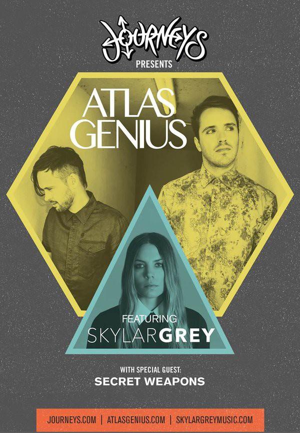 Skylar Grey объявила совместный тур с Atlas Genius