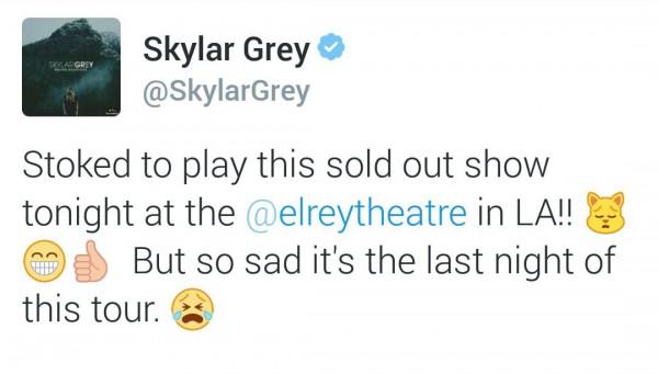 Сейчас Скайлар вернулась в Детройт и работает над выходом нового альбома