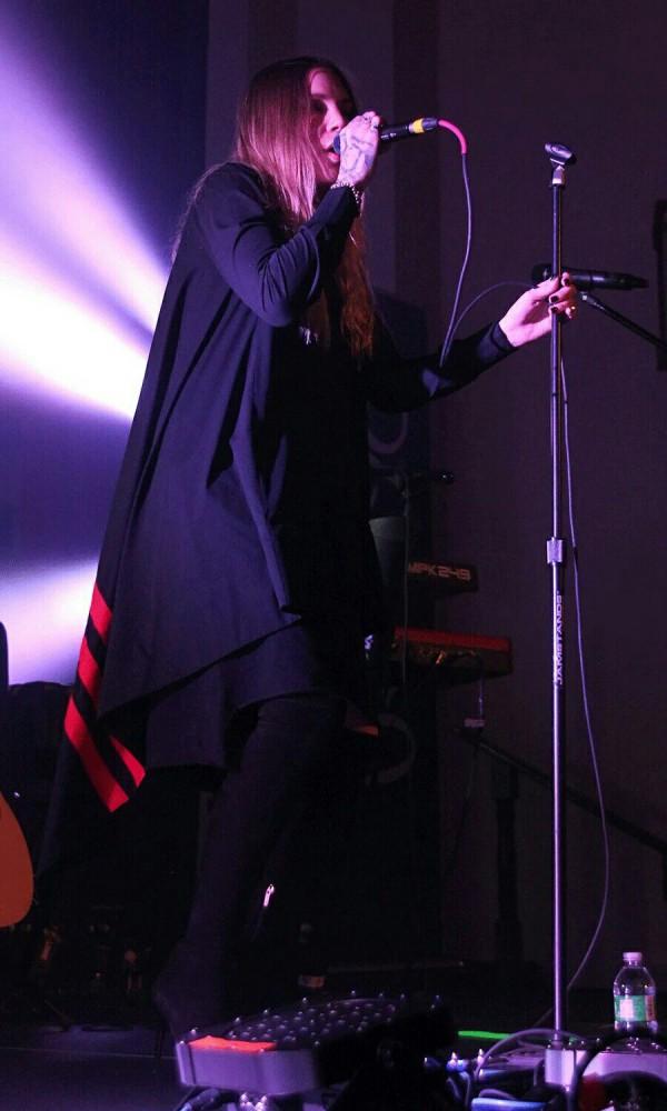 Skylar Grey 7 апреля, 2016. Канзас-Сити, Миссури. Madrid Theatre