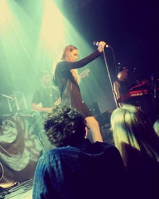2 апреля Skylar Grey с выступила в Ванкувере